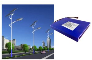 18650 Lithium Rechargeable Battery for Solar Street Light pictures & photos