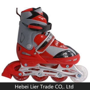 Adjustable Single Row Wheel Roller Blades Roller Skate Shoes pictures & photos