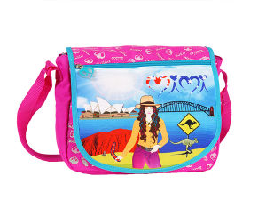Girl Messenger Shoulder Bags for School (BF1608318/BF1608319) pictures & photos