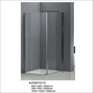 Tempered Glass Square Shower Door pictures & photos