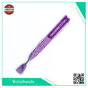 Beautiful Promotion Event Woven Wristband pictures & photos