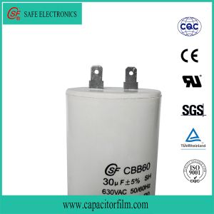Cbb60 AC Motor Run and Start Platstic Case Capacitor for Refrigerator pictures & photos