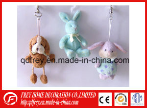 Cute Promotional Gift Mini Plush Rabbit Keychain Toy pictures & photos