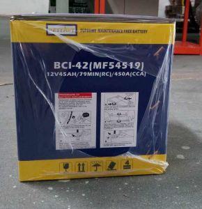 DIN Standard 12V 45ah SMF Car Battery 54519-Mf pictures & photos