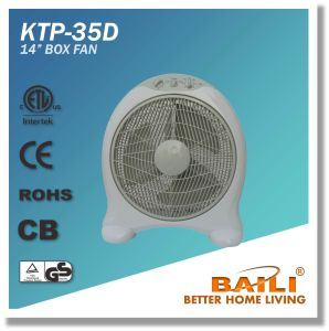 """Hot Sell 14"""" Round Shape Box Fan with 2 Hours Timer pictures & photos"""