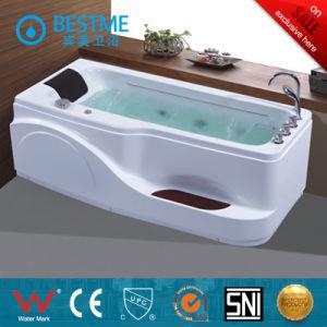 Hot Style Acrylic Corner Massage Bath Tub (BT-A390) pictures & photos