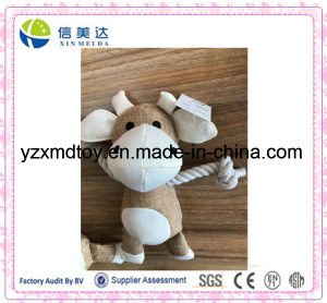 Plush Stuffed Cow Dogs′ Bite Soft Pet Toy pictures & photos