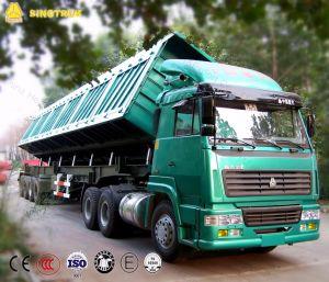Sinotruk 30cbm 3 Axle Dumper Trailer with Rectangular Shape pictures & photos