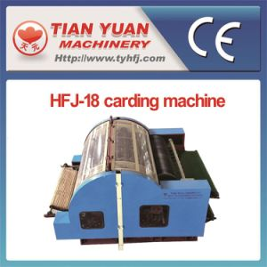 Polyester Fiber Carding Machine (HFJ-18) pictures & photos