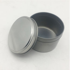 Promotion Round Tabacco Package Tin Can Round Tin Can pictures & photos