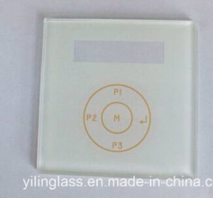 Color Printed Switch Panel Glass pictures & photos