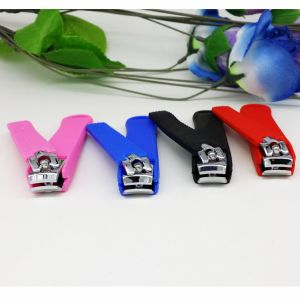 Soft PVC Silicone Nail Clipper pictures & photos