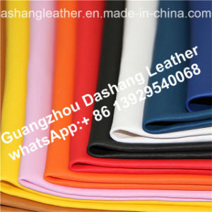 Pattern PVC Leather Free of Heavy Metals Ds-A1008 pictures & photos