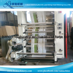 Chamber Doctor Blade Plastic Flexographic Printing Machine pictures & photos