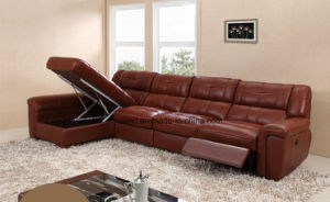 Modern Living Room Leather Massage Function Recliner Sofa (UL-NS483) pictures & photos