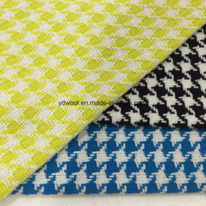 Plain Weave Houndstooth Wool Fabric pictures & photos