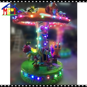 Small Carousel Decorated with LED Lights Cartoon Character pictures & photos