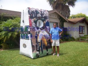 Advertising Inflatable Football Toos Sports Games for Sale pictures & photos
