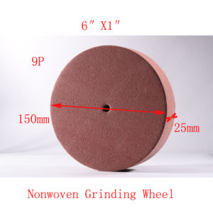 "6""X1"" 9p Abrasive Non Woven Polishing Surface Conditioning Wheels pictures & photos"