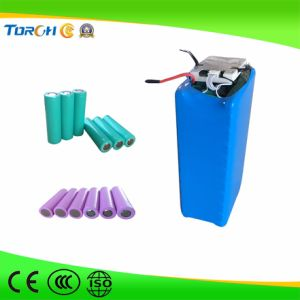 High Power and Quality 3.7V Rechargeable Lithium Ion Battery 18650 for Flashlight/LED Light Torch pictures & photos