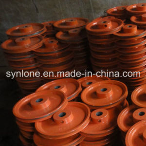 OEM Steel Casting Pulley Wheel with Painting Surface pictures & photos