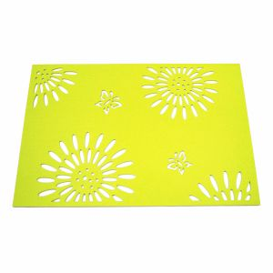 3mm & 5mm Season 100% Felt Placemat for Tabletop and Holiday Decorations pictures & photos