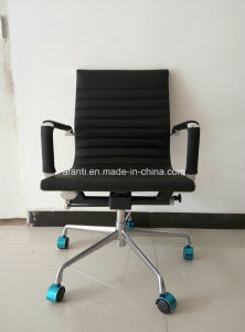 Ergonomic Office Furniture Eames Staff Leather Chair (RFT-B13) pictures & photos