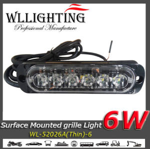 Ultra Thin 6 W LED Surface Mount Light Bar pictures & photos