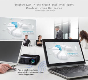 Hot Selling Conference Smart Projector DLP LED Education Projector 3500 ANSI for Business Meeting pictures & photos