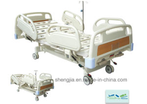 Sjb200mc Luxurious Hospital Bed with Double Revolving Levers pictures & photos