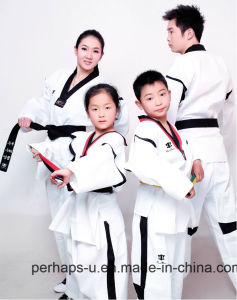 Ultra Light Version Cotton Taekwondo Uniform Fabric Judo Uniform Clothes pictures & photos