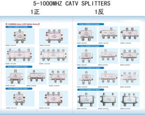 4way CATV Splitter 5-1000MHz (SHJ-B104S) pictures & photos
