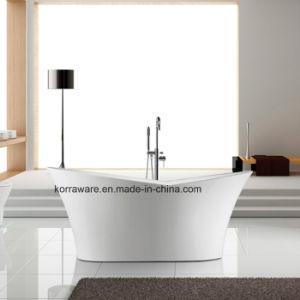 (K1527B) Freestanding Acrylic Bathtubs / Massage Whirlpool Bathtubs pictures & photos