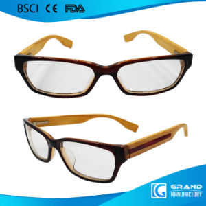 Bamboo Arm Carbon Bike Frame Optical Novelty Reading Glasses pictures & photos