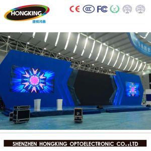 New Design Curve P3.91 with Die Casting Cabinet Rental LED Video Wall pictures & photos