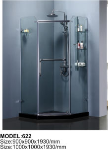 8mm Glass Curved Glass Shower Enclosure pictures & photos
