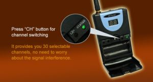 2.4GHz Digital Wireless Tour Guide System pictures & photos