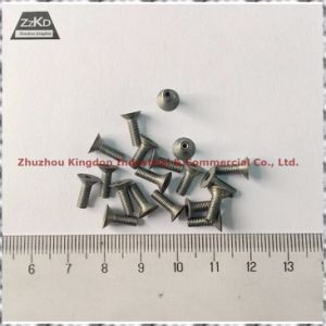 99.95% Purity Polished Molybdenum/Tungsten Nail-Pure Tungsten Part/Tungsten Nuts/ Tungsten Bolts pictures & photos