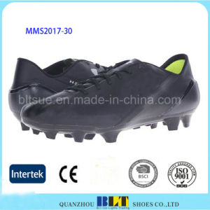 PU Upper Molded Foam Insole Soccer Shoes pictures & photos