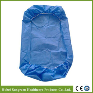 SMS Non-Woven Bed Cover, Disposable Mattress Protector pictures & photos