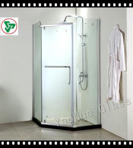 3-19mm Bathroom Door Tempered Glass pictures & photos