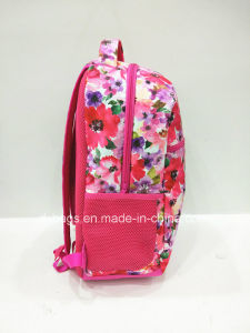 2017 New Sytle with Flower Sports Backpack, Leisure Bag pictures & photos
