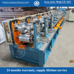 Chain Drive Pre-Cutting Automatic C Purlin Forming Machine pictures & photos
