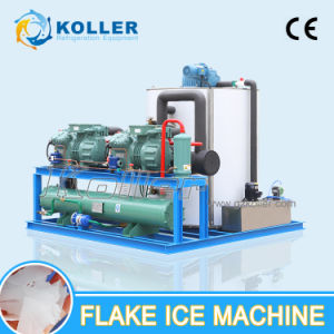 Hot Sale Commercial Flake Ice Machinery for Food Processing (KP100) pictures & photos