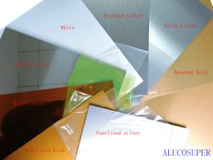 0.45mm Coated Aluminum Sheet for Dye Sublimation Printing pictures & photos