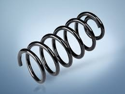 Shock Absorber Compression Spring with High Carbon Steel Wire pictures & photos