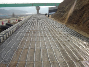 PP, HDPE Uniaxial Geogrids for Roadbed with High Tensile Strength, Georid pictures & photos