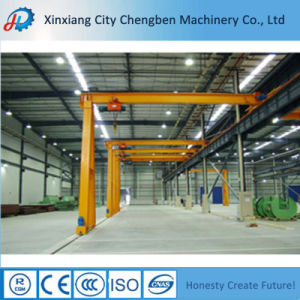 High Quality Single Girder Semi Gantry Crane pictures & photos