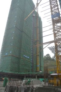 Construction Building Topless Tower Crane pictures & photos