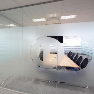 Die Cut Frosted Window Film with Own Logo pictures & photos